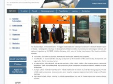 15th international specialised exhibition for design, construction and operation of transport infrastructure facilities